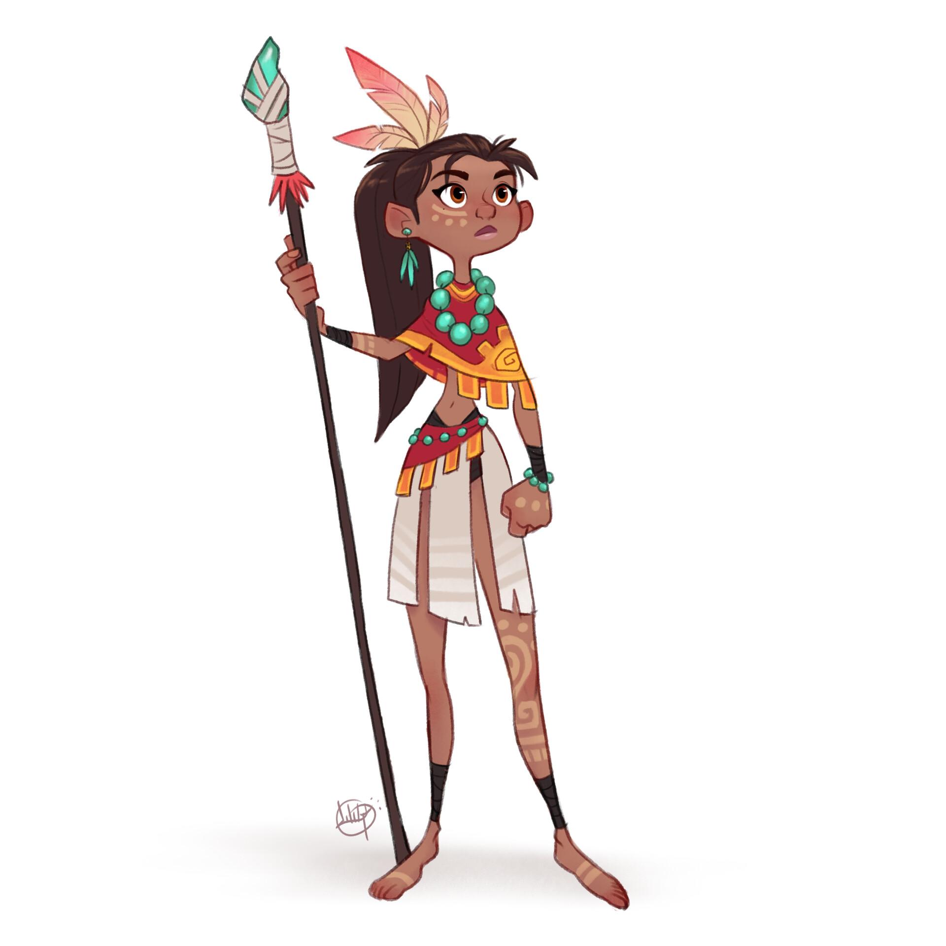 Luigi lucarelli tribal girl