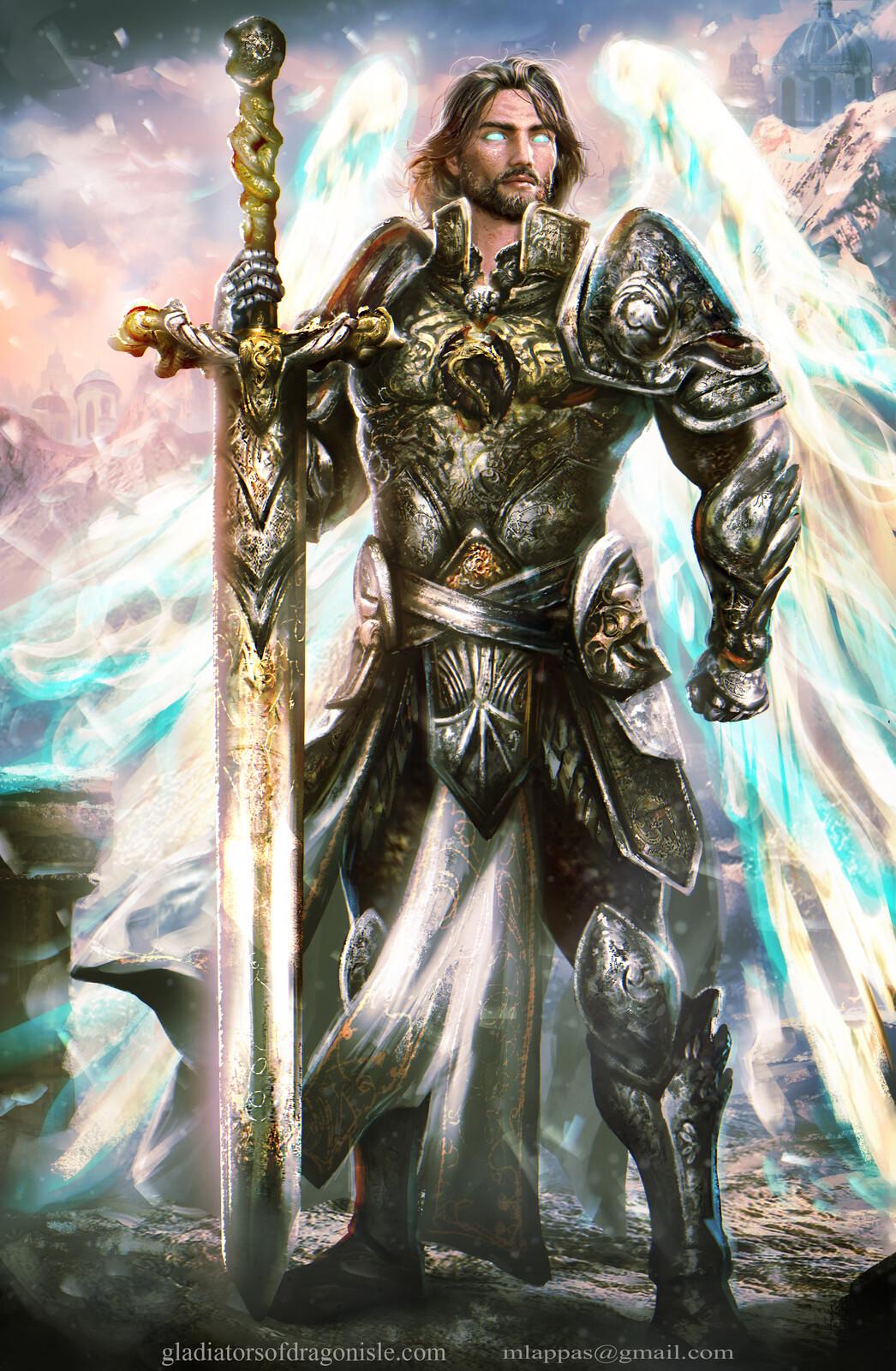 Luther- Gladiators of Dragon Isle