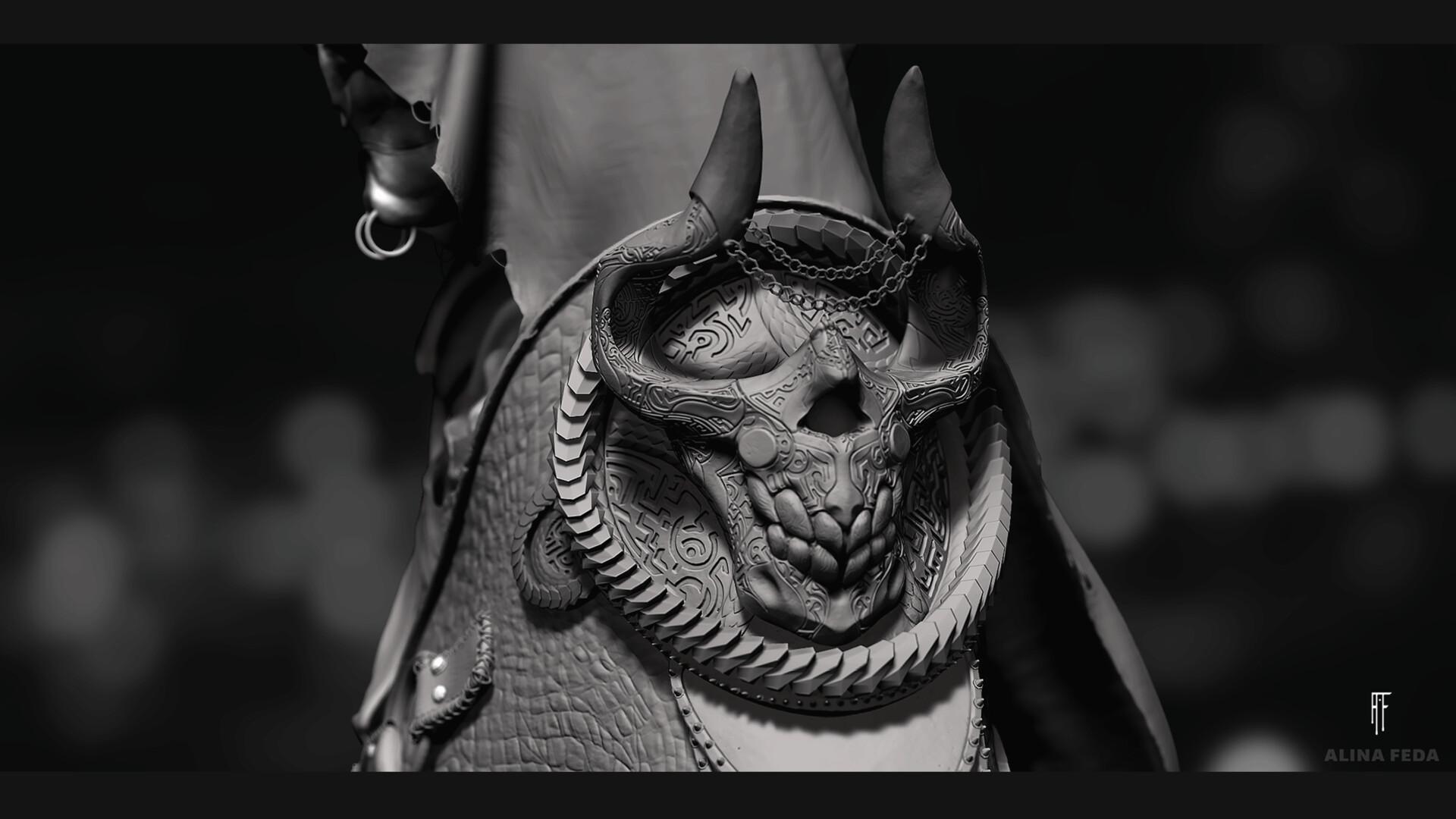 Alina feda hp skull