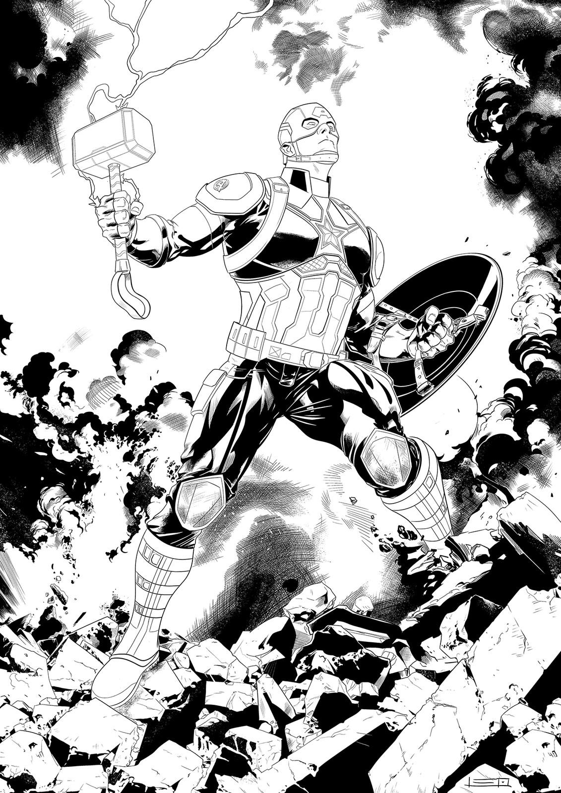 Endgame's Captain America