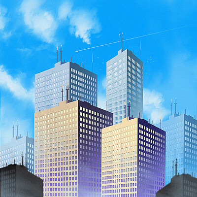 Taha yeasin how to draw buildings easy