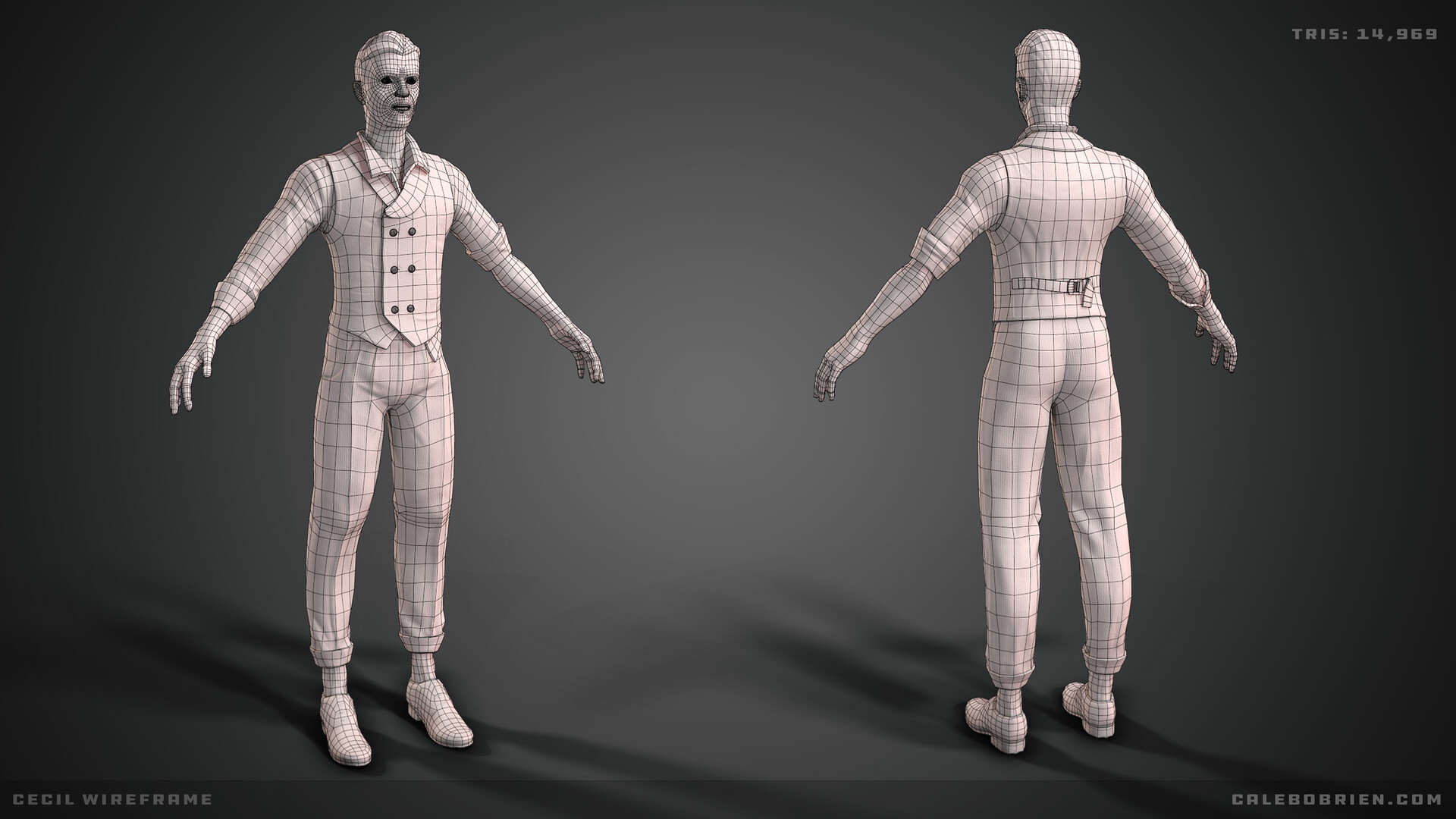 Caleb o brien hero wireframe