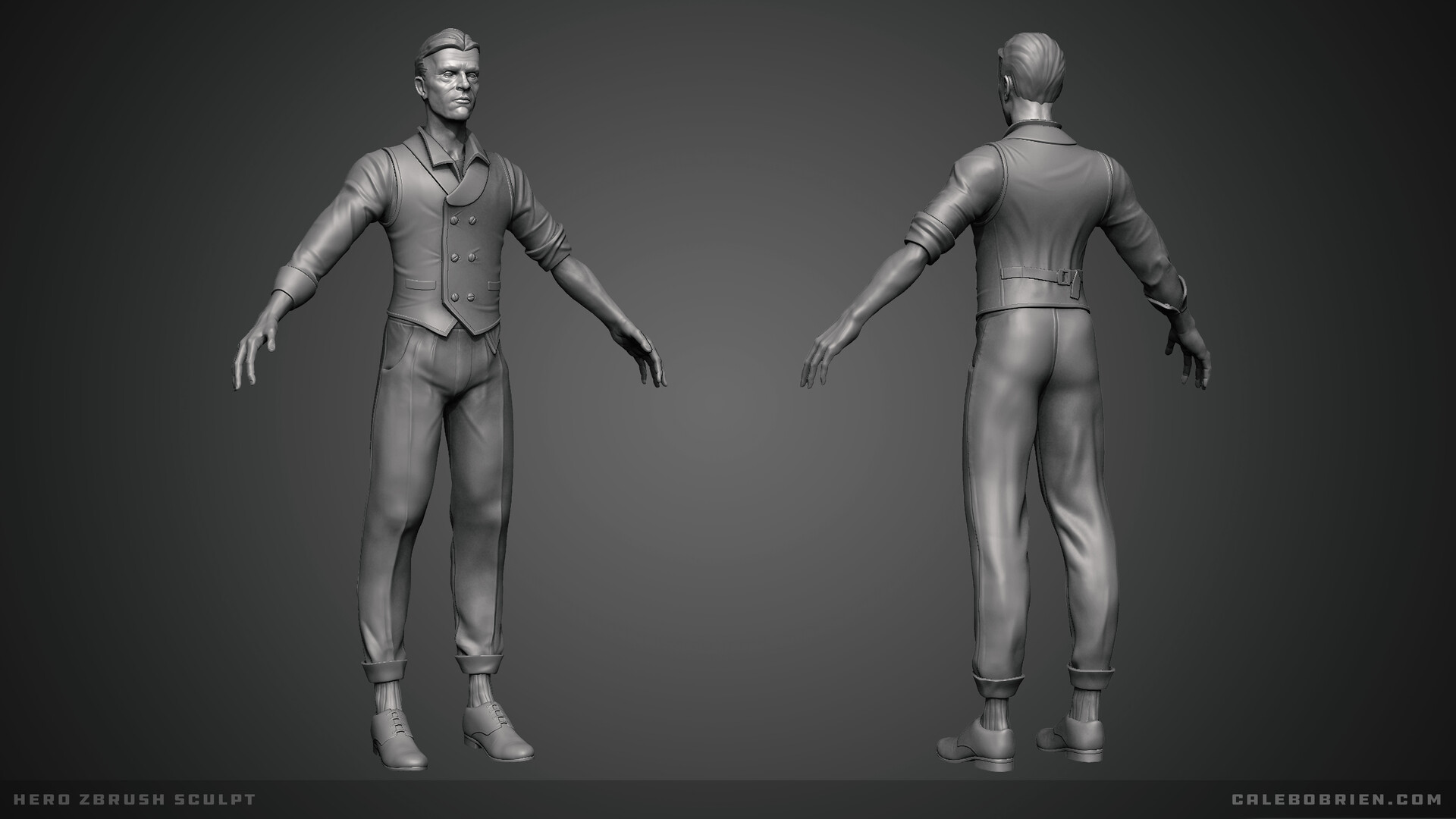 Caleb o brien hero sculpt