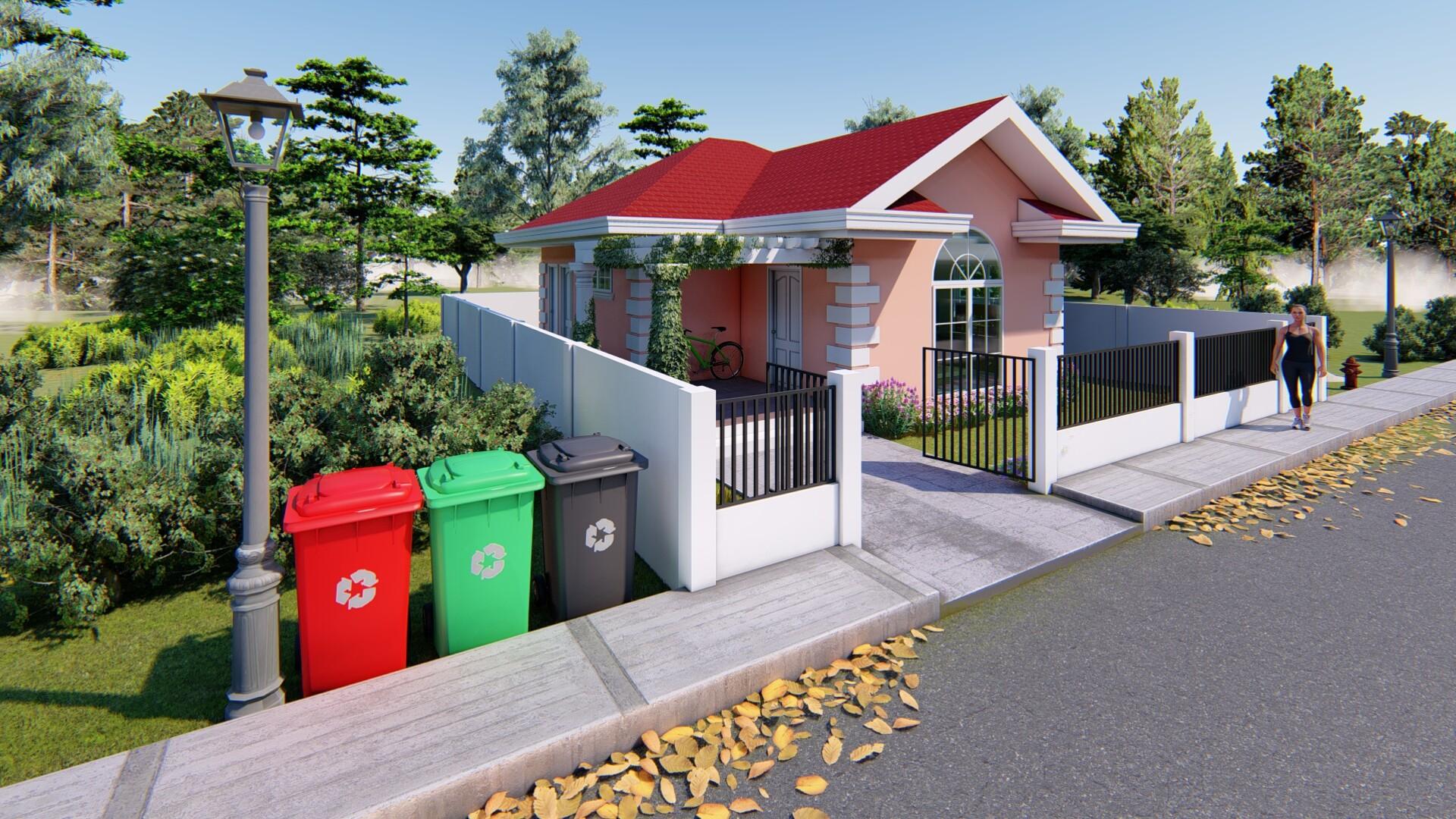 ArtStation - Small House, Renante Mosqueda