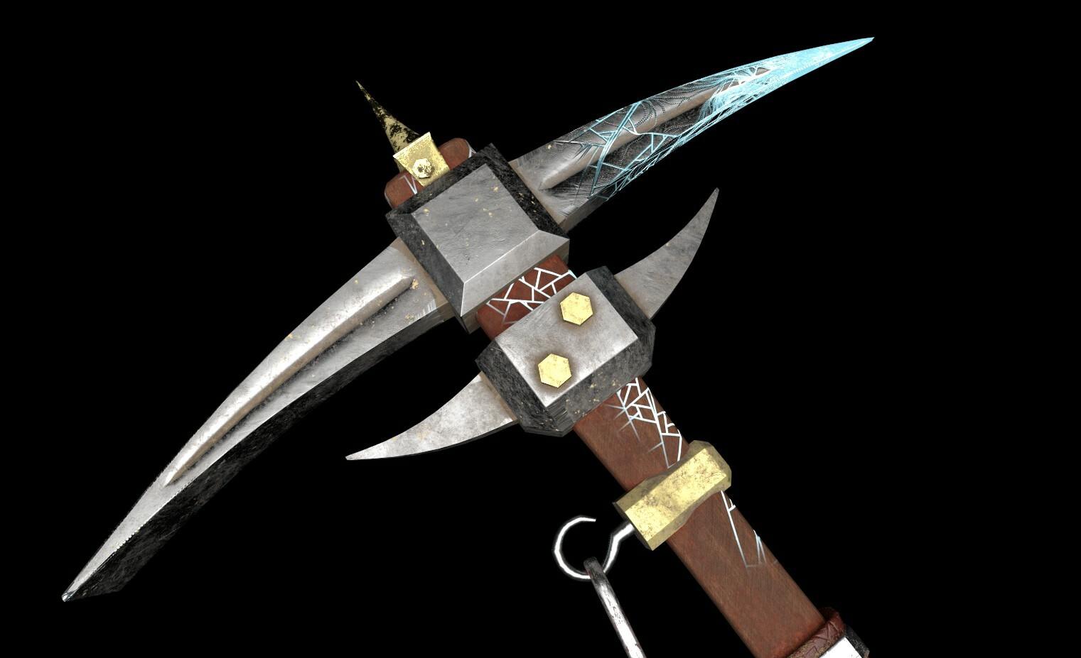 Alex Gaston - Tempest Thunder Crack - Magic Fantasy Pickaxe