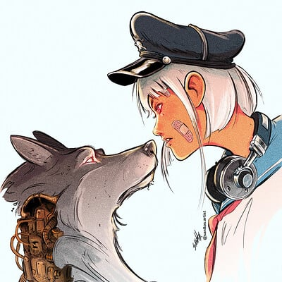 Santtos wolf girl alta