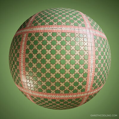 Terracotta Tiles  - Substance Designer