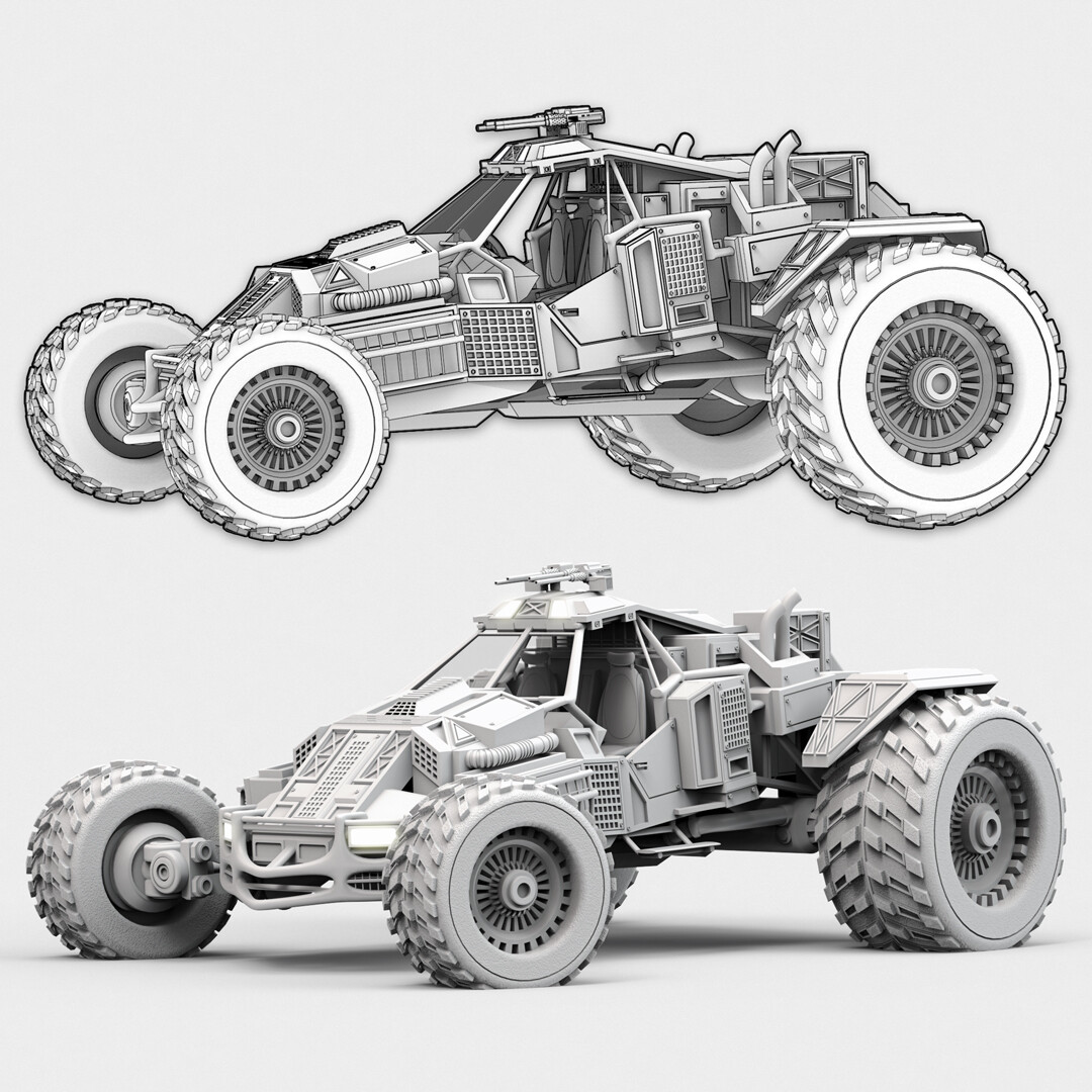ArtStation - Buggy Design Concepts, Garreth Jackson