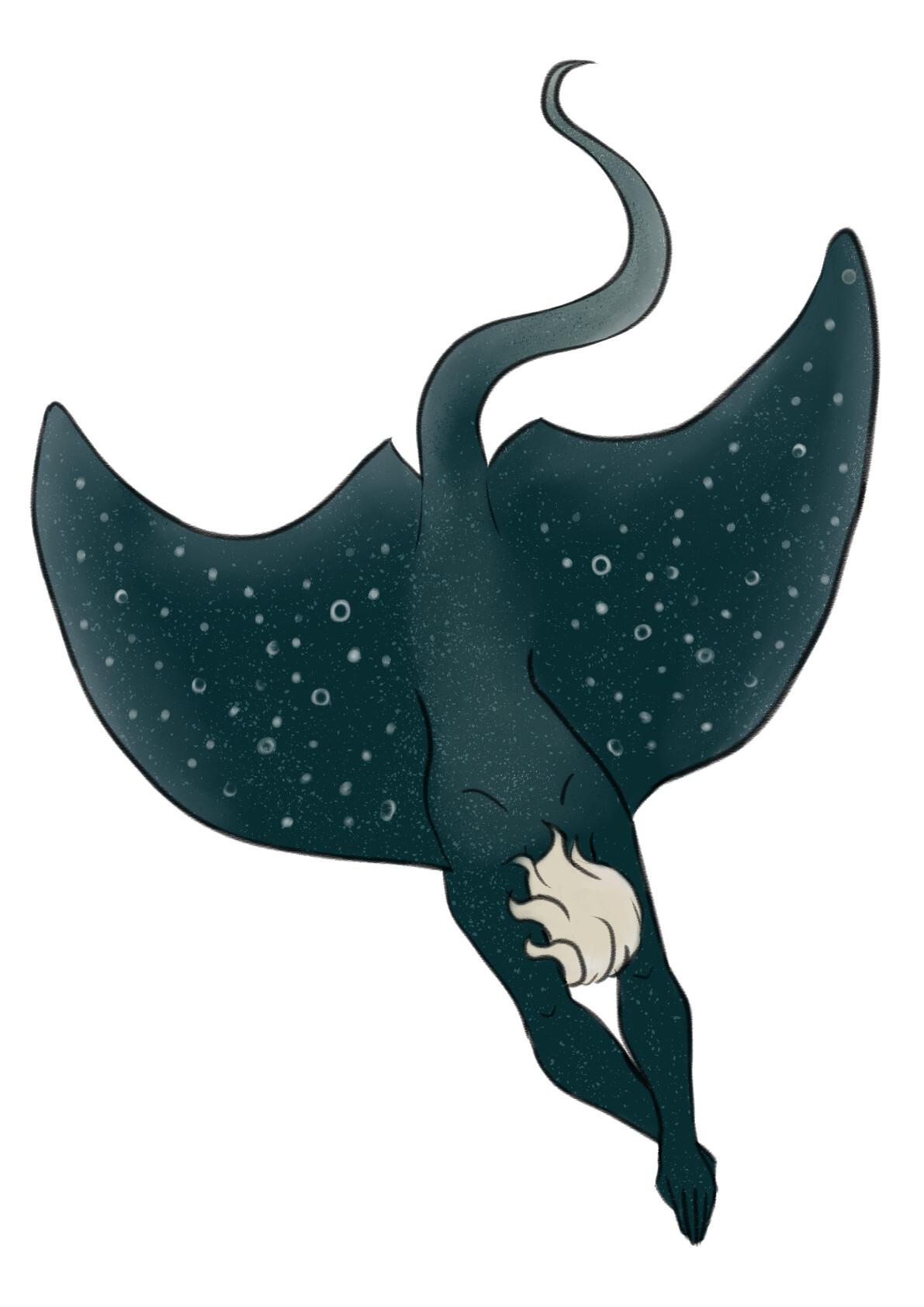 Jessi olney mermay spotted stingray