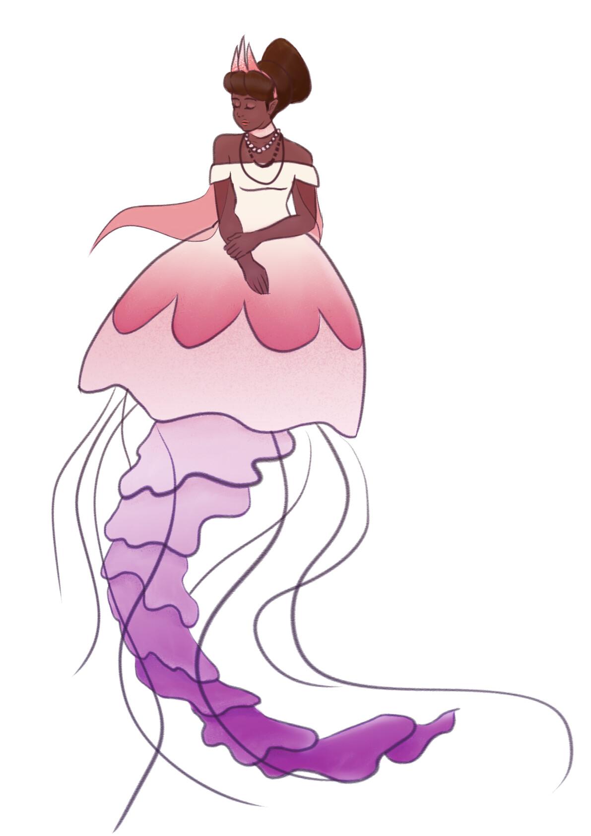 Jessi olney mermay jellyfish queen