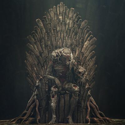 Takuto mizuno wooden throne