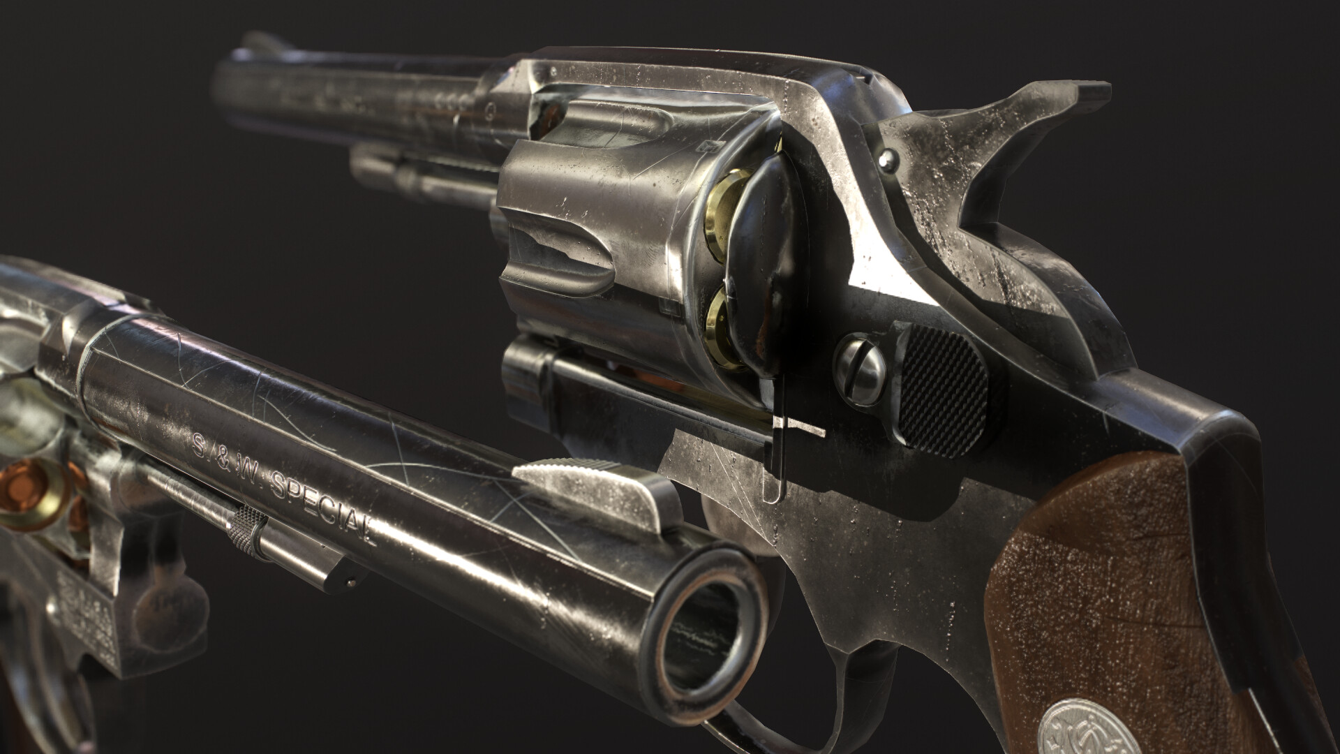 Ramy Ahmed Yahia - Smith & Wesson Revolver Model 10