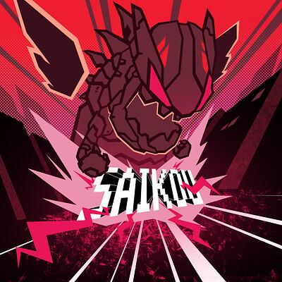 Alex illustration tokyo machine saikou artstation