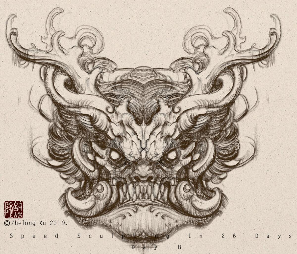 Zhelong xu sketch02
