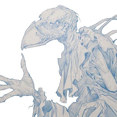 Dela longfish sketch skeksis