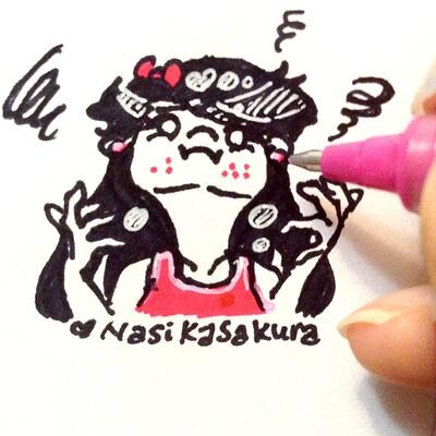Nasika sakura stressed chin pimples nasikasakura 2019 with hand