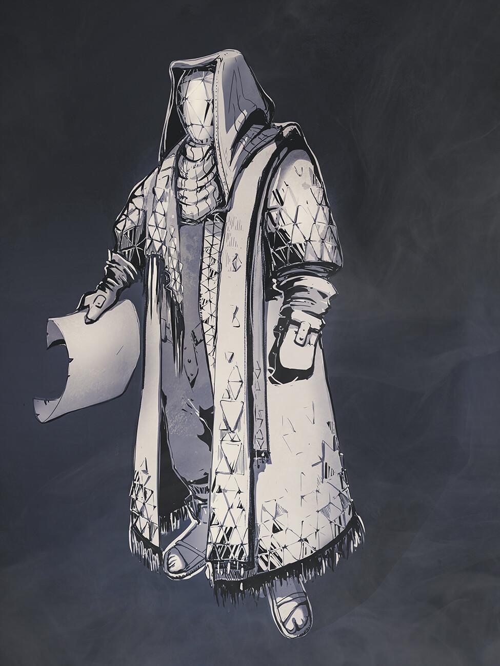 Futuristic priest