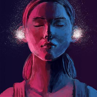 Sefie rosenlund glitterears