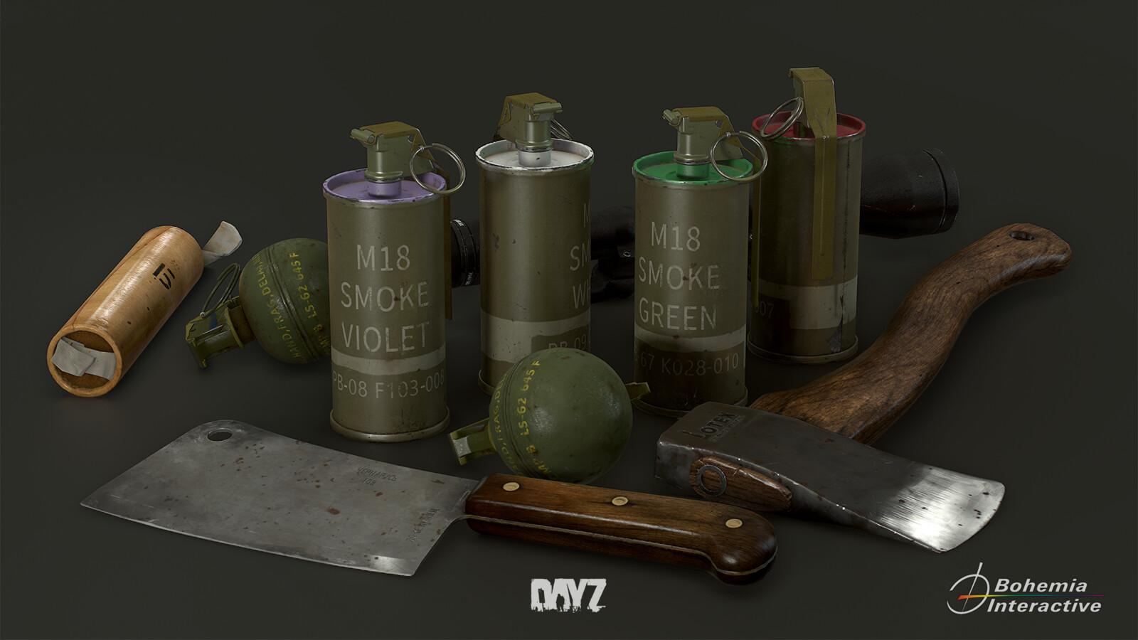 DayZ assets