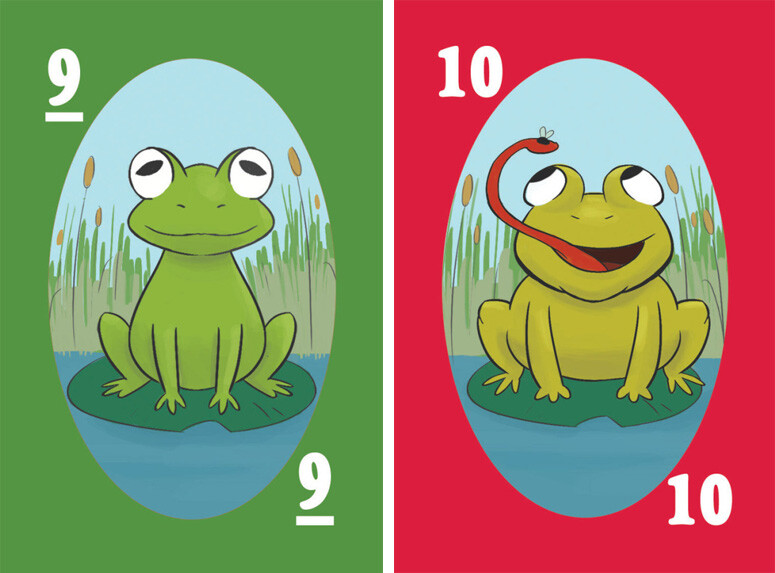 """Card art for """"Top Frog"""""""
