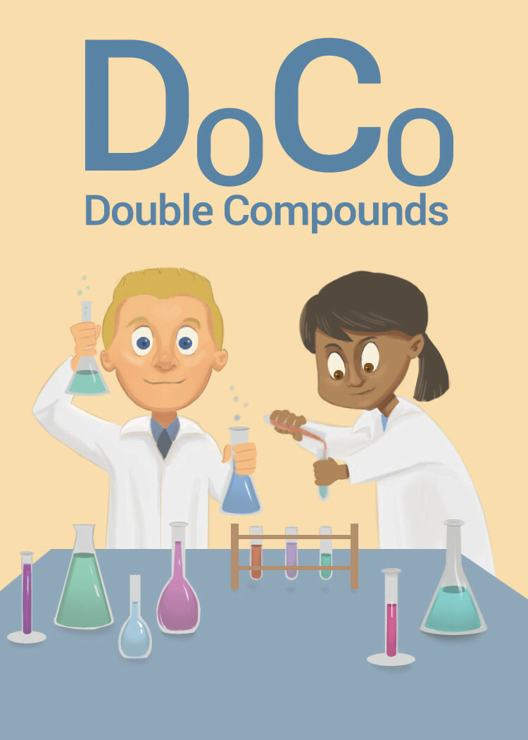 """Box art for """"Double Compounds"""""""