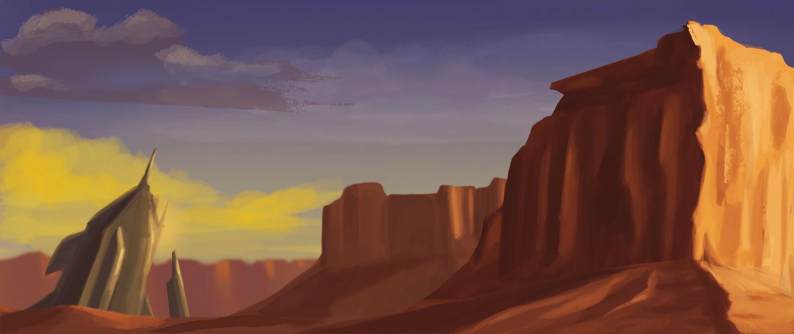 Desert study