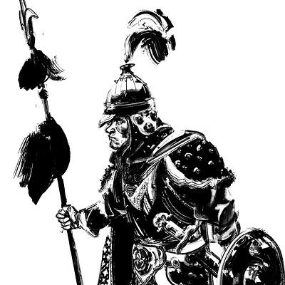 John powell black and white character 3