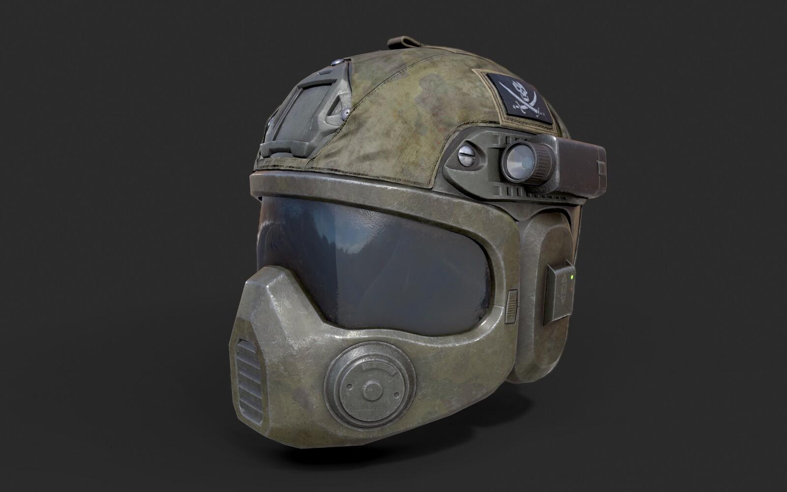 Special Forces Combat Helmet