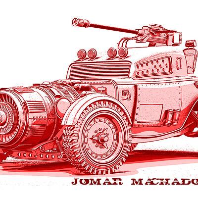 Jomar machado a battle hot rod peq