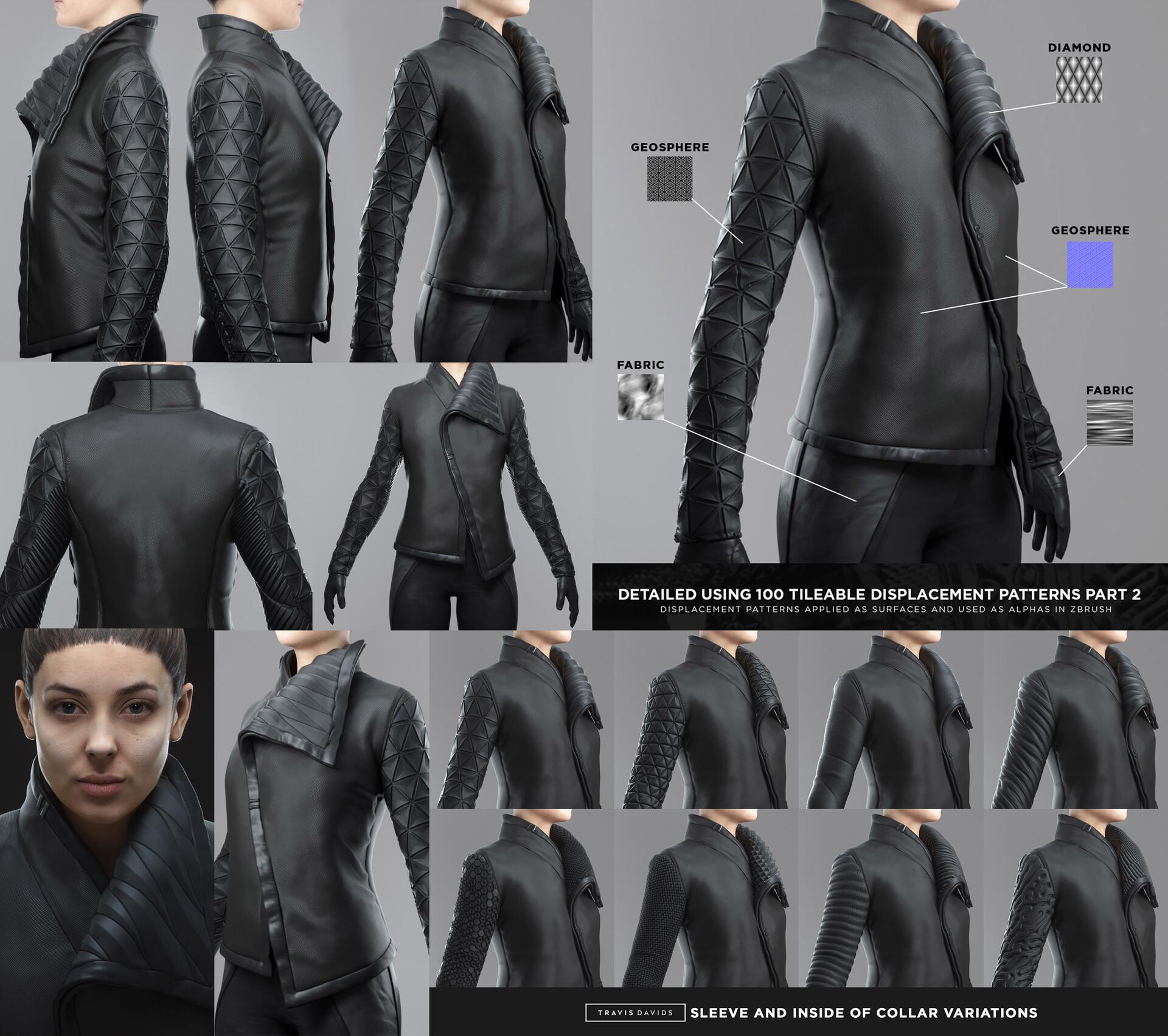 Travis davids cyberpunk female outfit