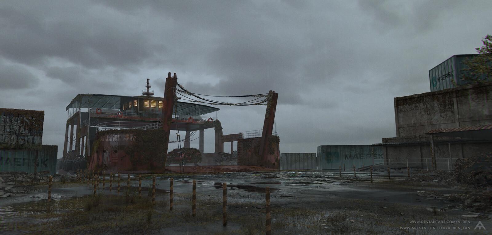 Abandoned Sasa Wharf