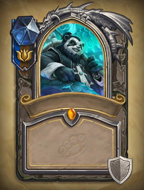 Mock hero card