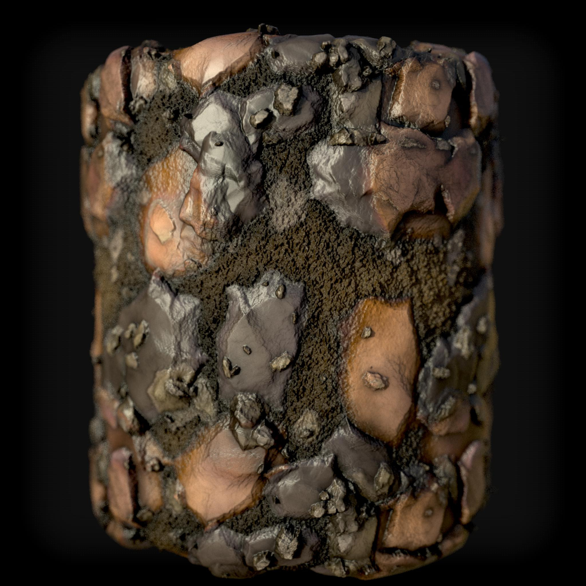 Rock/Mud. Fully Procedural.