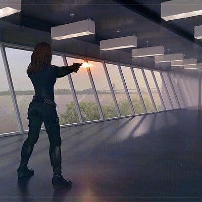 Sean hargreaves avengers gun room 1