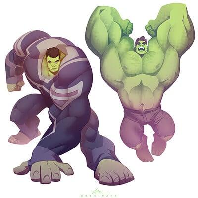 Valerio dreelrayk buonfantino avengers hulk