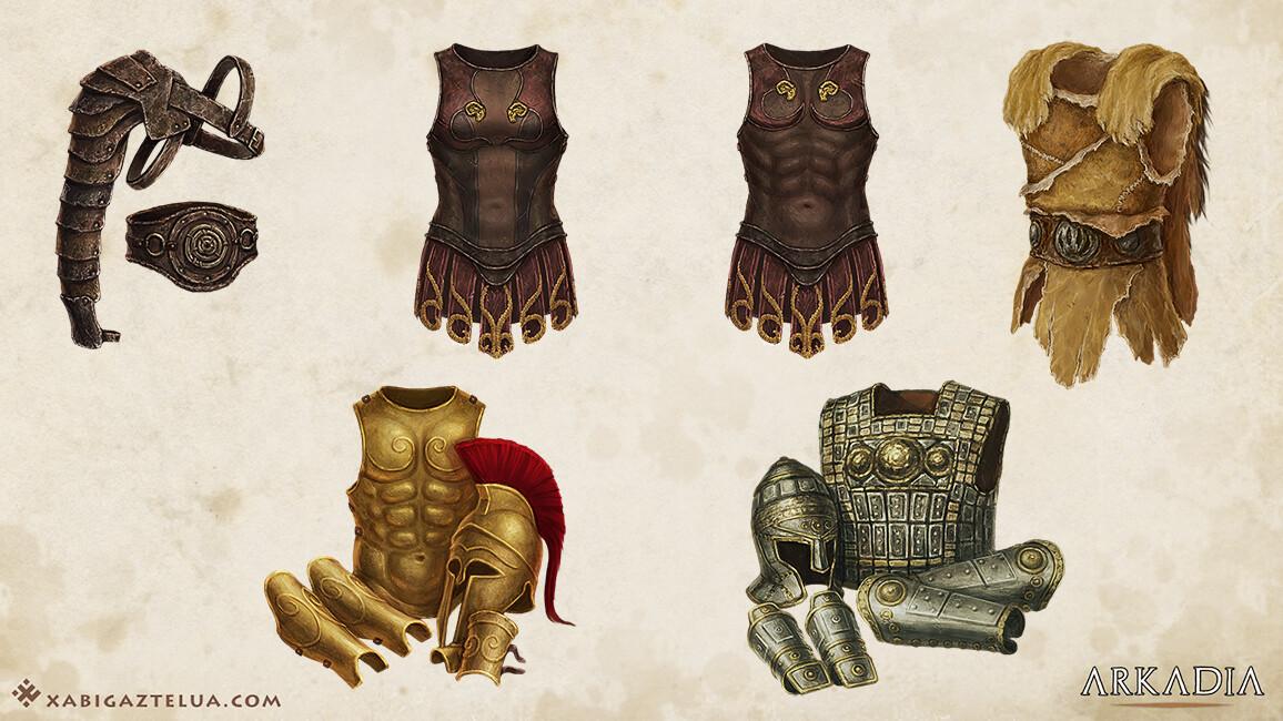 Xabi gaztelua armors