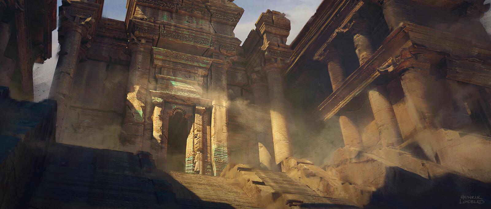 Sandstone Temple Concept