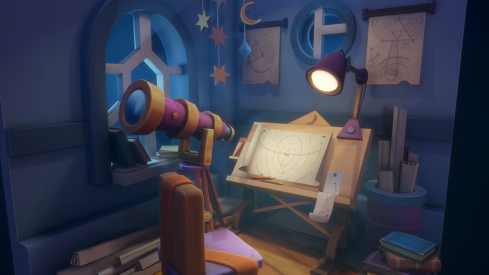 Astronomer Room
