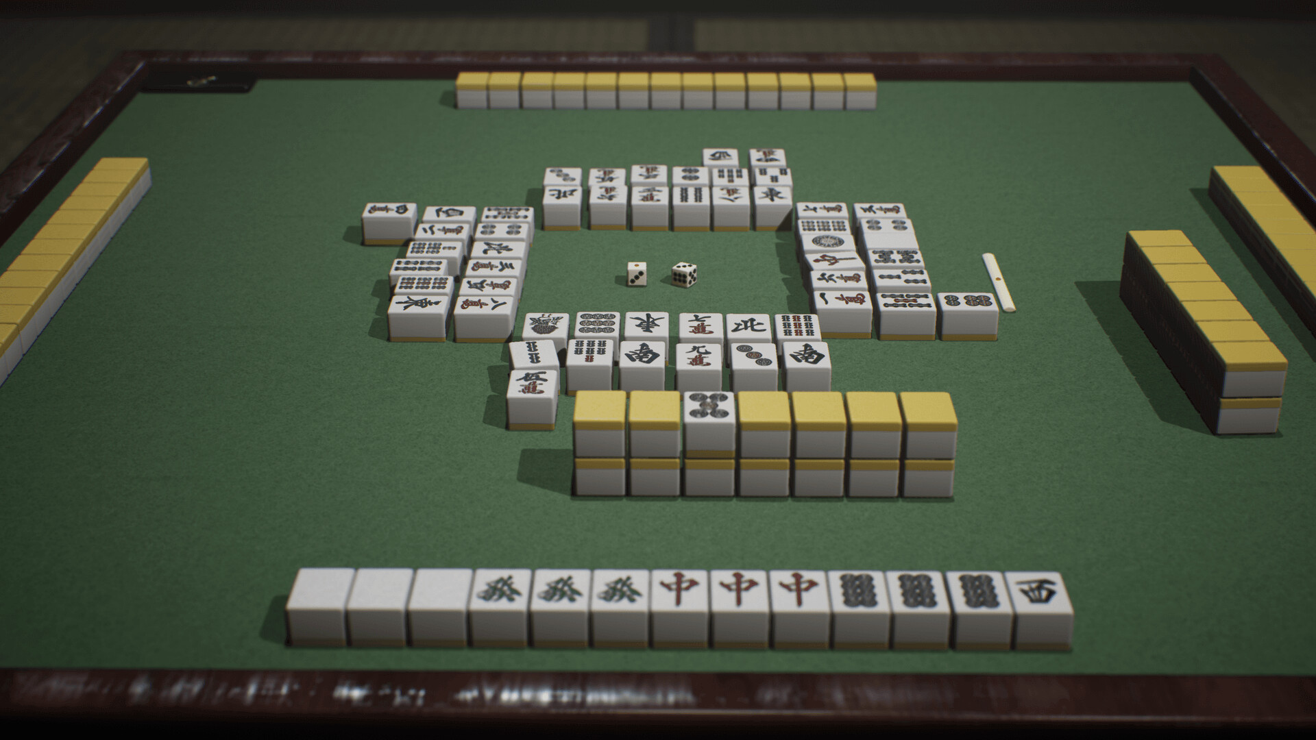 ArtStation - Mahjong - 3D Models for Game Engine, Bunno pen