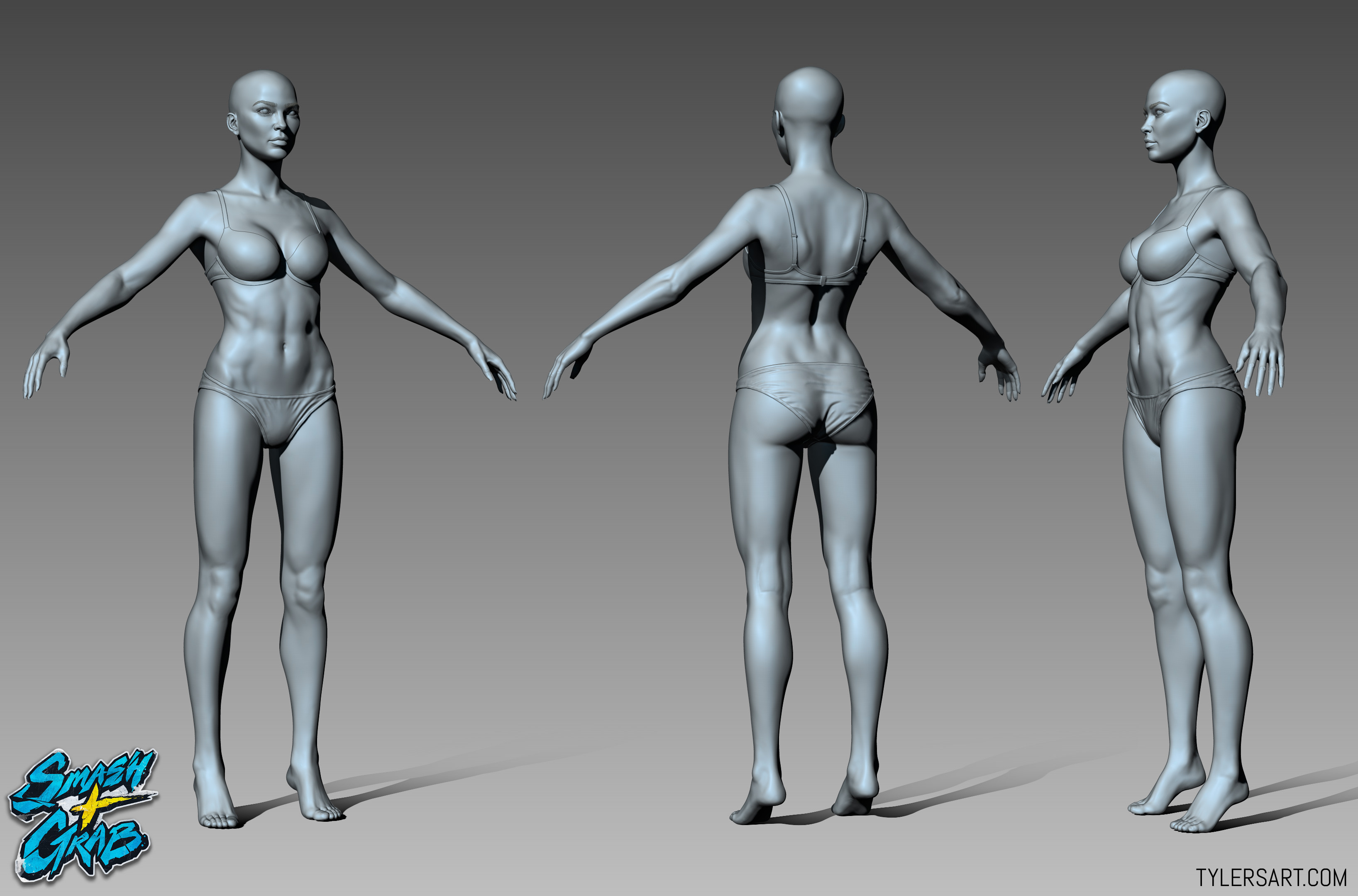 Medium - Base Female Sculpt
