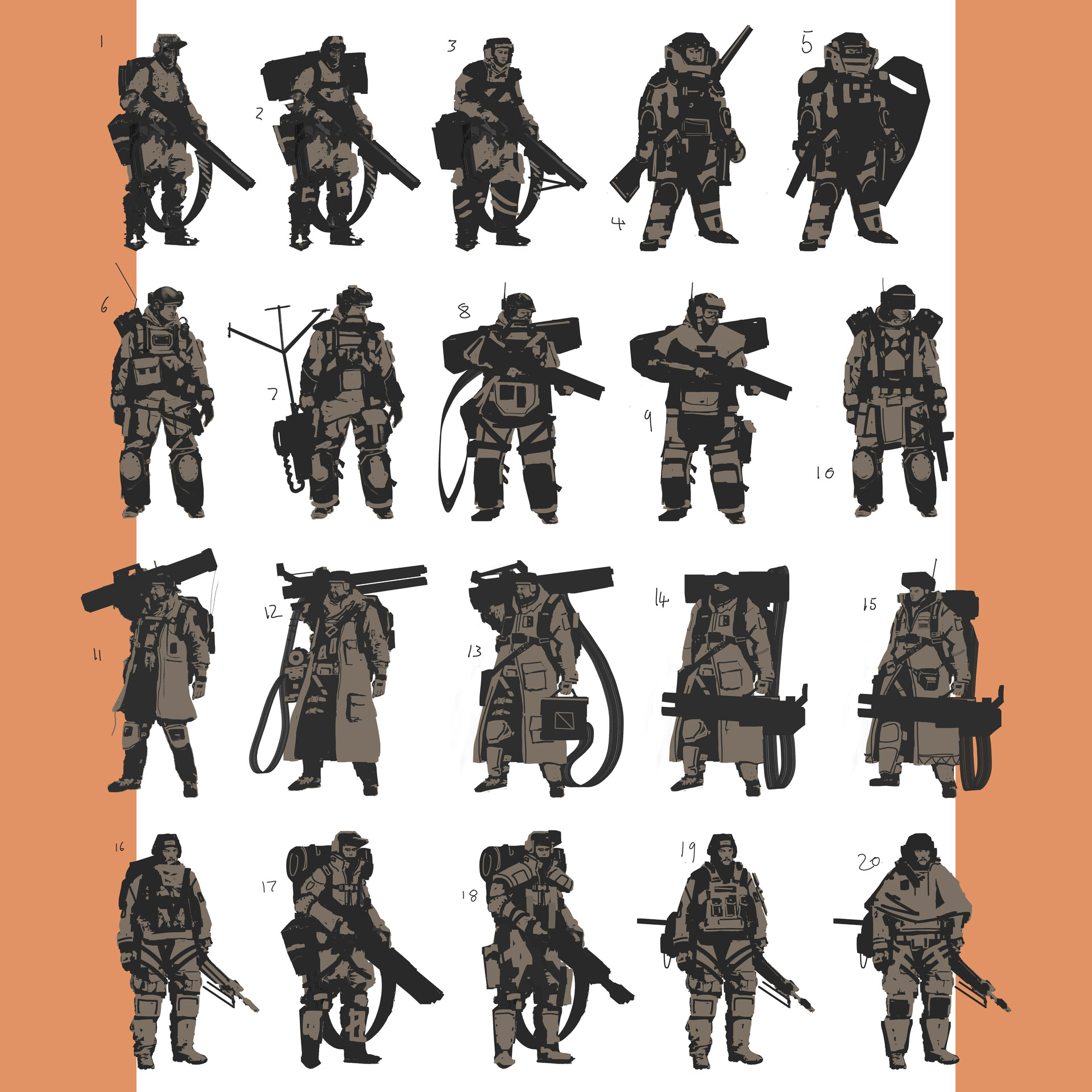 Jack dowell soldier character sheet