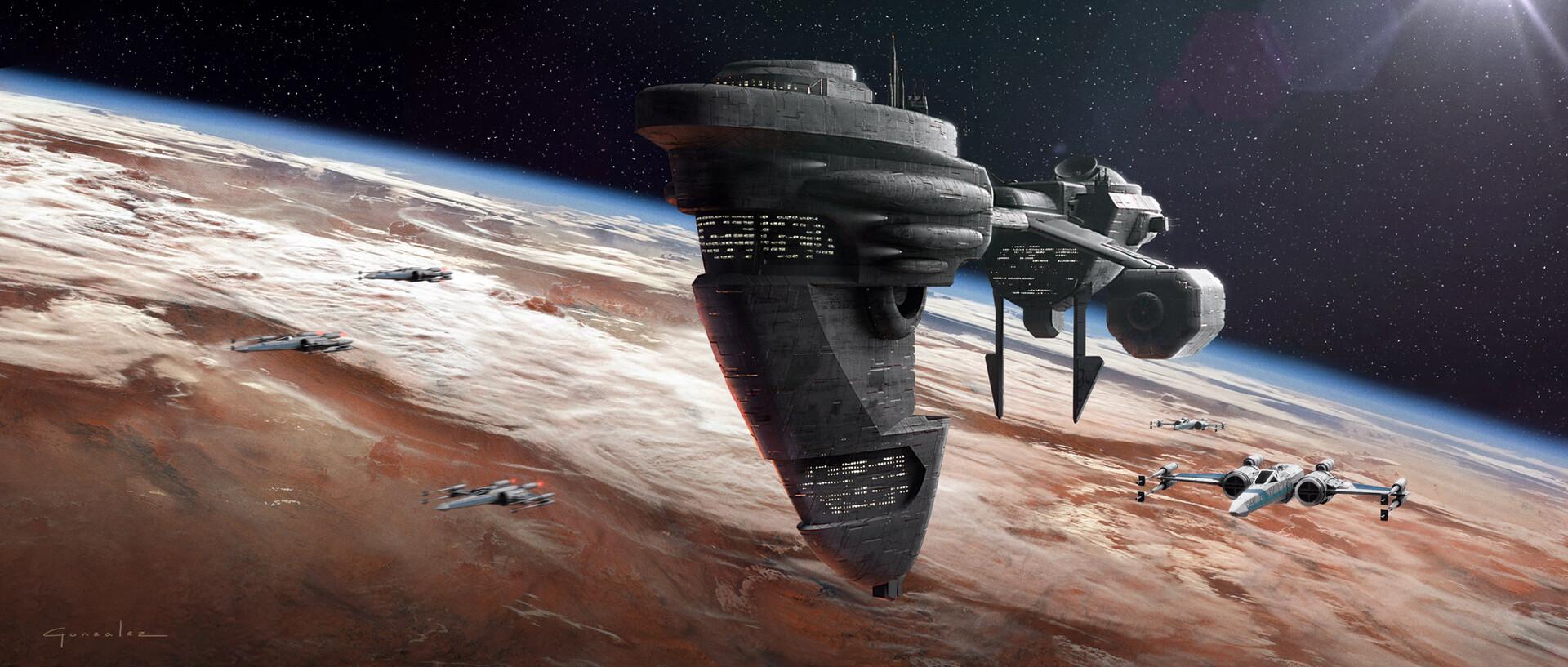Alejandro gonzalez alejandro gonzalez star wars ship