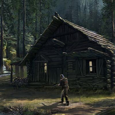Christian piccolo cabinscene
