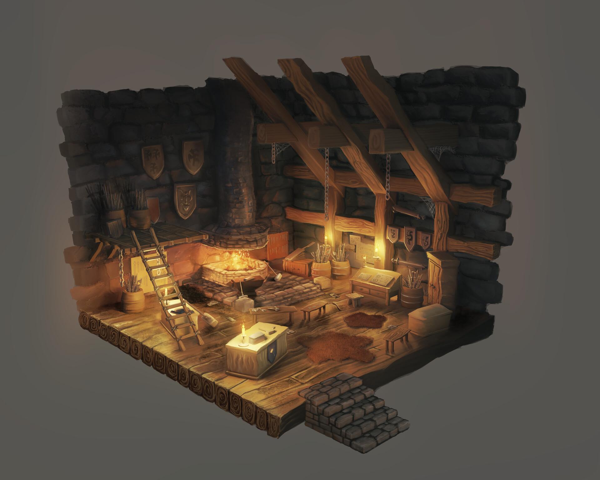 Julian hartinger blacksmith warm mood