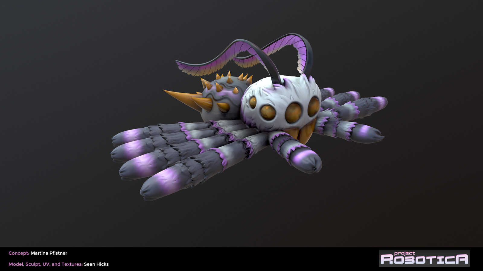 Screenshot of Marmoset View (Default/Rigging Position)