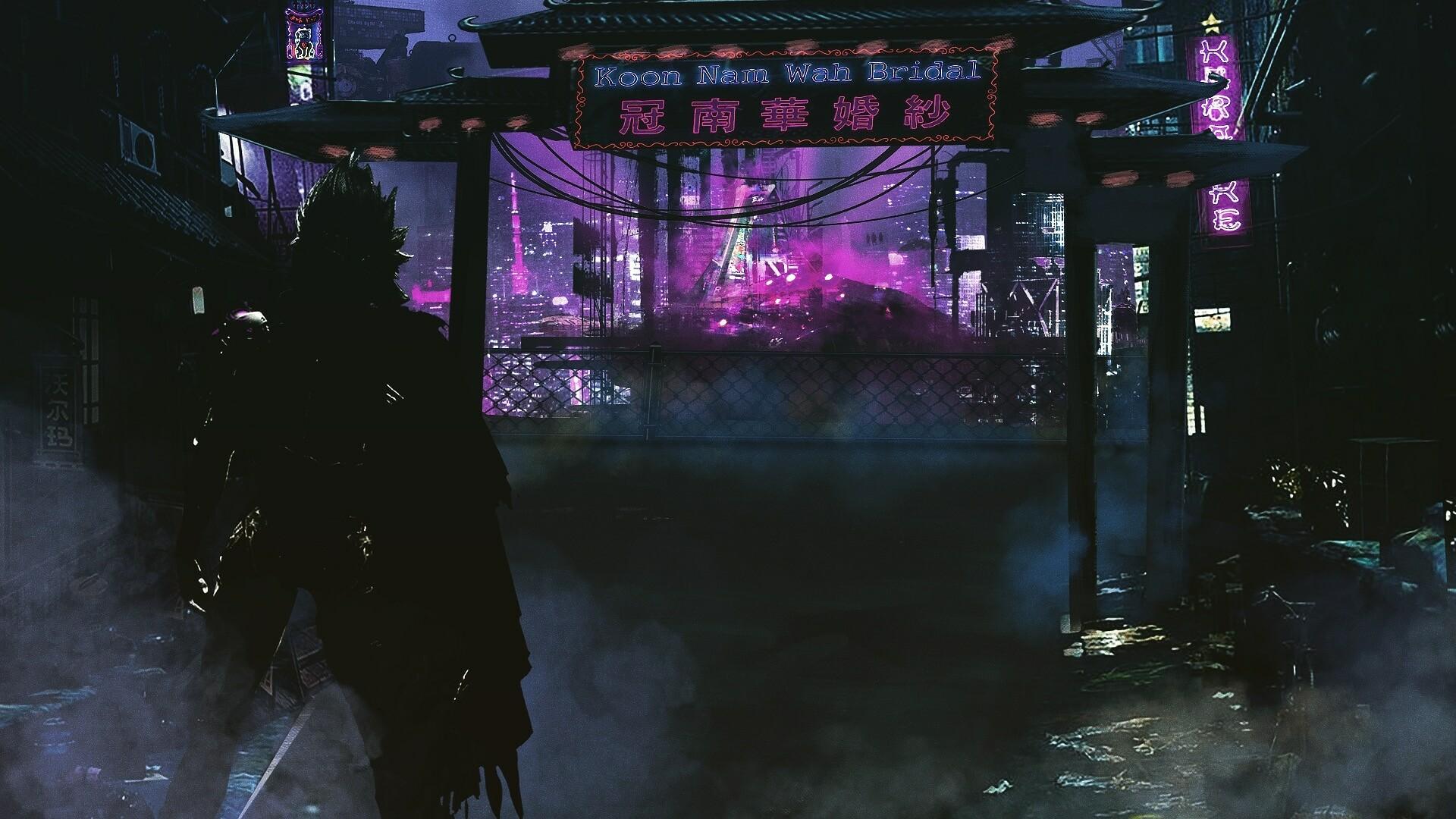 ArtStation - Sketch of a Sci-fi/Cyberpunk Neo Tokyo City