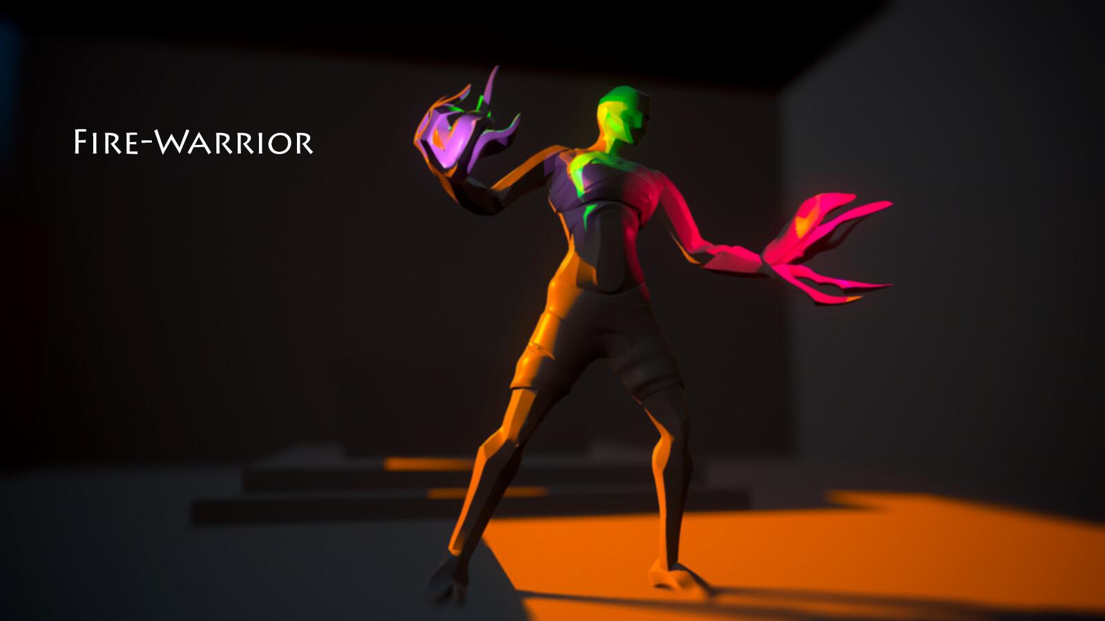 Fire-Warrior Final Render