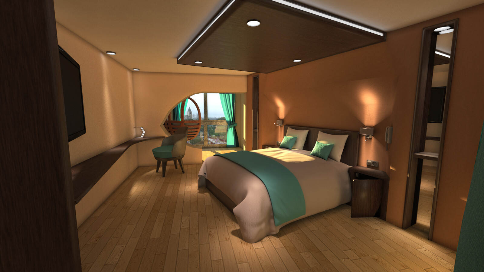 Proposition for the new bedroom
