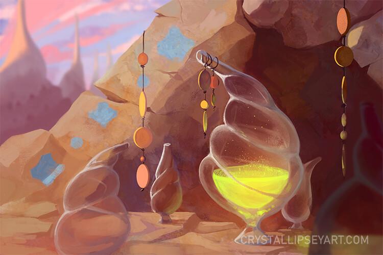 Crystal lipsey stamina potion lvl adjust