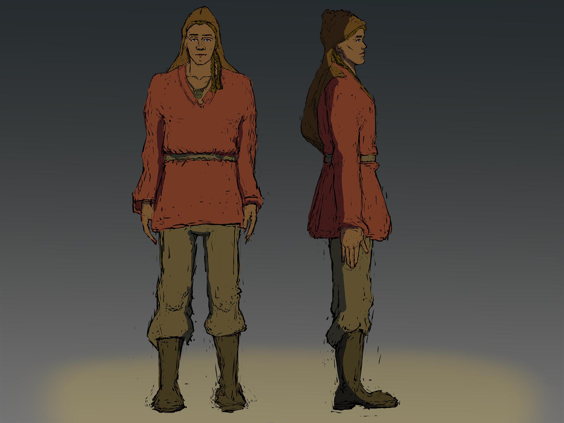 ArtStation - King Arthur Character Concept Challenge, Paul
